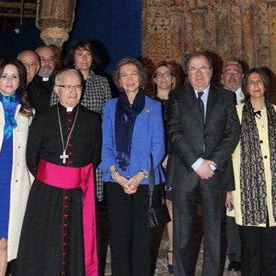 La Reina Doña Sofía inaugurará la exposición de Las Edades del Hombre, `Reconciliare', el 24 de abril en Cuéllar