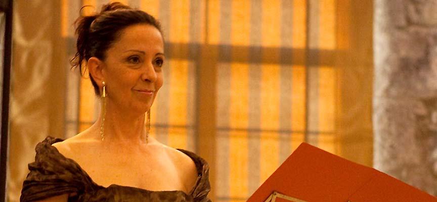 La soprano Cecilia Lavilla.