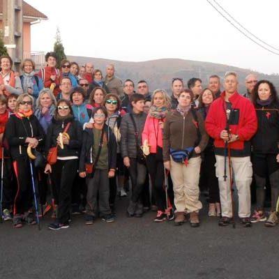 La Asociación La Cuesta El Salvador recorrió una nueva etapa del Camino de Santiago