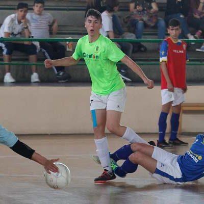 El FS Eufón Cuéllar empató ante el Valladolid y aplaza el subcampeonato de División Honor Juvenil
