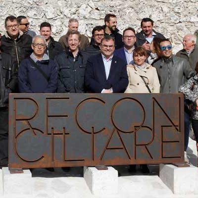 Miembros de la Asociación Española de Conserjes de Hotel visitaron `Reconciliare´ de la mano de la Diputación Provincial