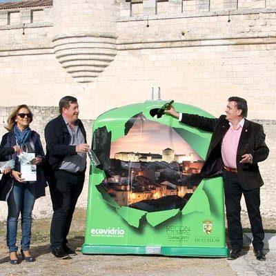 Ecovidrio instalará una veintena de contenedores con la imagen nocturna del Castillo