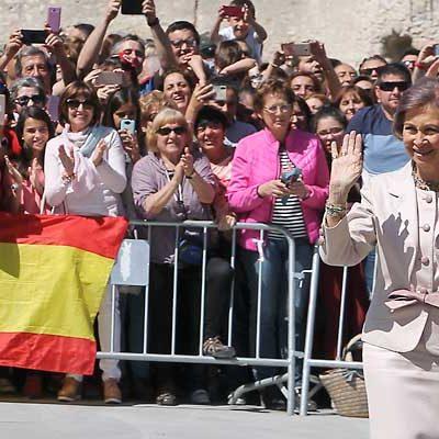 Cuéllar aclama a la Reina Sofía en la inauguración de Las Edades del Hombre