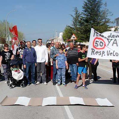 Apoyo unánime del pleno a la petición de pasos elevados o un radar de tramo en la travesía de Dehesa Mayor