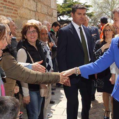 La Reina Sofía visitará el lunes las tres sedes de `Reconciliare´