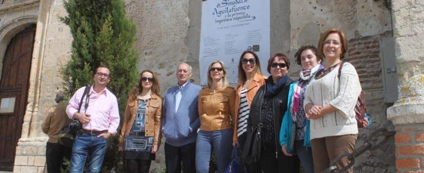 Aguilafuente recibe las primeras visitas del sector turístico