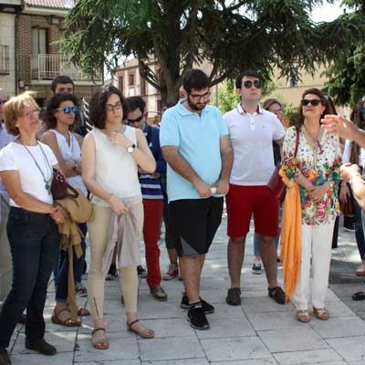 La universidad realiza una actividad académica en la exposición sobre el Sinodal de Aguilafuente