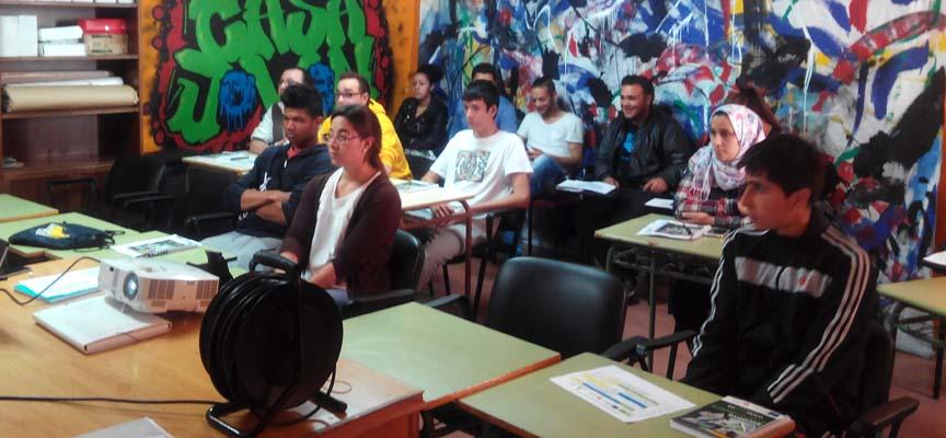 Alumnos participantes en el curso.