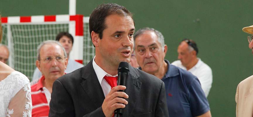 Carlos Enrique Fuentes, alcalde de Sanchonuño.