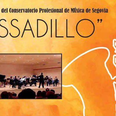 Alborada Musical acerca a Cantalejo la actuación de la Brass Band del Conservatorio de Música de Segovia