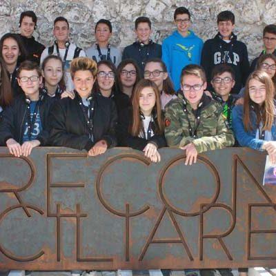 Los alumnos del IES Duque de Alburquerque abren las visitas de escolares a `Reconciliare´