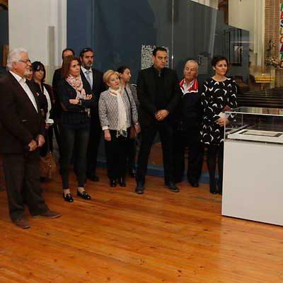 La iglesia de Santa María de Aguilafuente abre sus puertas a `El Sinodal y la primera imprenta española´