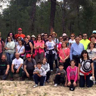 Ruta de primavera por los pinares de Zarzuela del Pinar y las pegueras de Chañe