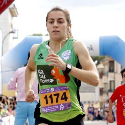 La cuellarana Ángela García logró plata en el campeonato autonómico