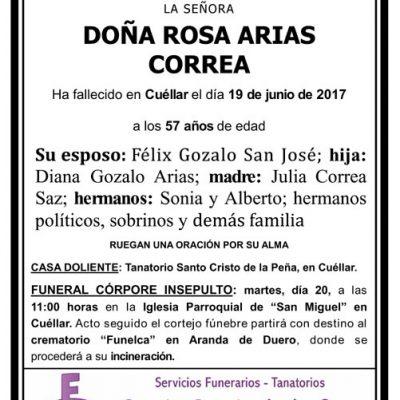 Rosa Arias Correa