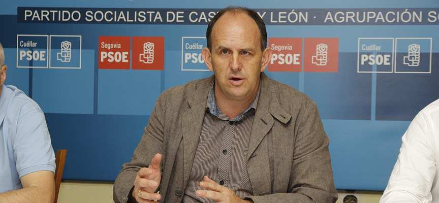 El procurador socialista, José Luis Aceves.