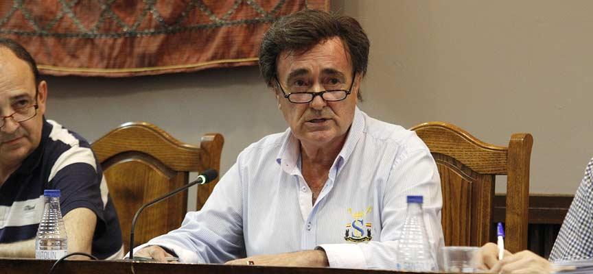El alcalde de Cuéllar, Jesús García.