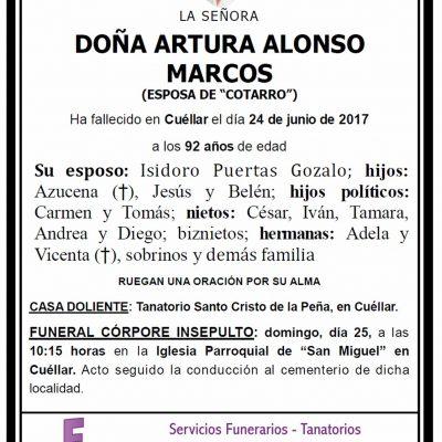 Artura Alonso Marcos