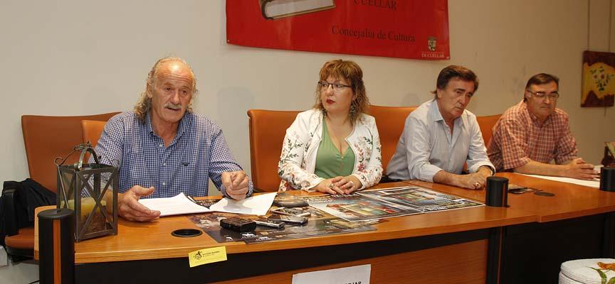 Un momento de la presentación de la Feria del Libro 2017 en la sala Cronista Herrera.
