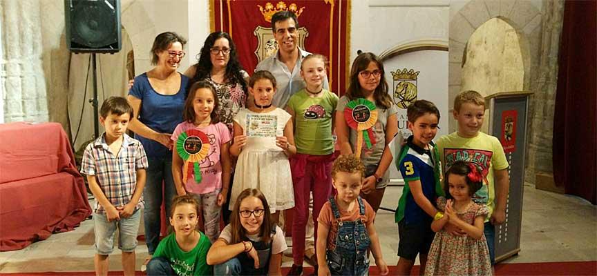 """Entrega de premios del concurso """"Menudo Festeamus""""."""