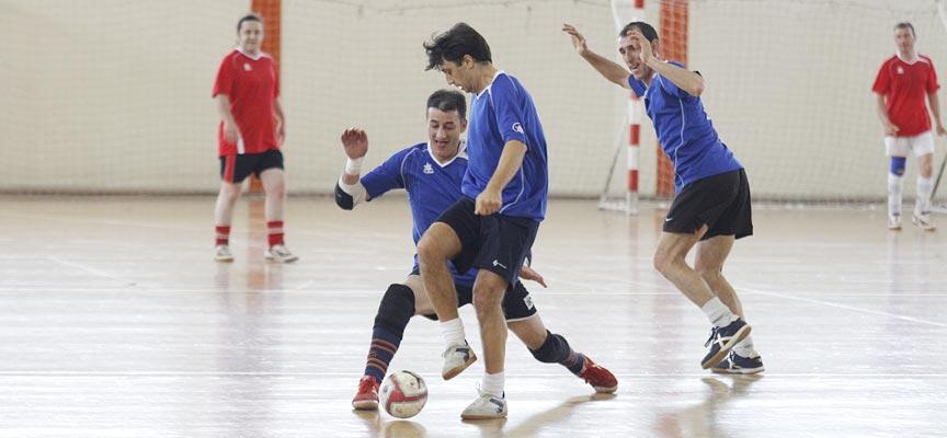 Partido del 25 aniversario del ascenso del Fútbol Sala Seguros Sureste a División de Honor.
