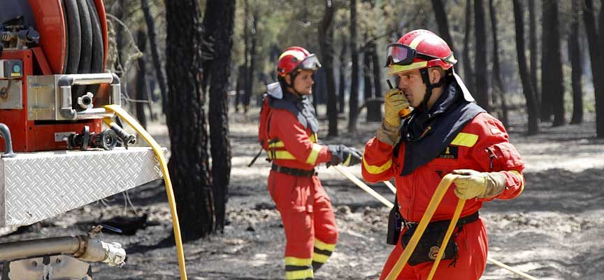 La Junta mantendrá la declaración de riesgo medio de incendios forestales hasta el 17 de octubre