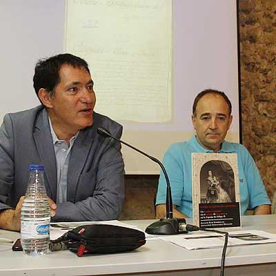 Ignacio Ruíz  centra en la figura de `Elena o Eleno de Céspedes´ su último libro