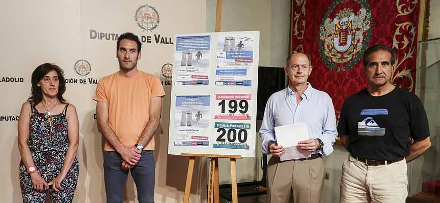 Acto de presentación del 37ª Media Maratón de Campaspero, en el Palacio de Pimentel en Valladolid.