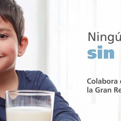 La campaña `Ningún Niño sin Bigote´ inicia la recogida de leche para el centro de alimentos del Ayuntamiento