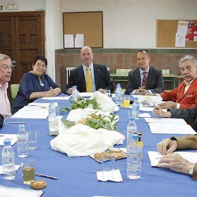 El Patronato del Alcázar celebra su reunión trimestral en el Castillo de Cuéllar