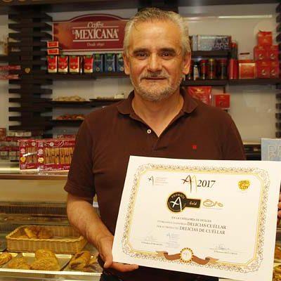 Delicias Cuéllar y Quesería Artesanal de Sacramenia, nominadas a los Premios Artesanos 2019 de Castilla y León