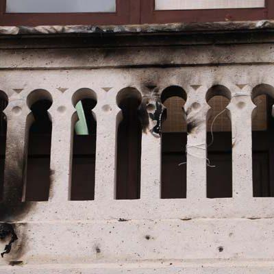 La Asamblea Comarcal de IU condena la quema de la bandera arcoiris del Ayuntamiento de Cuéllar