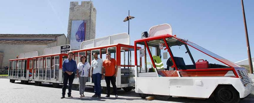El tren turístico de `Las Edades´ recorre ya las calles de Cuéllar