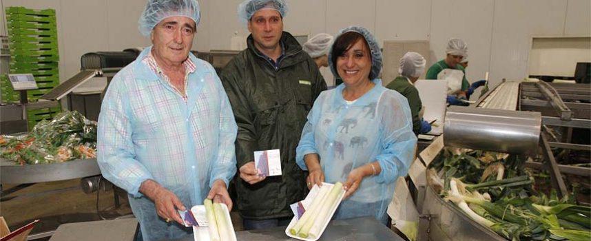 Cuéllar y Las Edades llegarán a 35.000 hogares de la mano de las verduras de la empresa Tabuenca