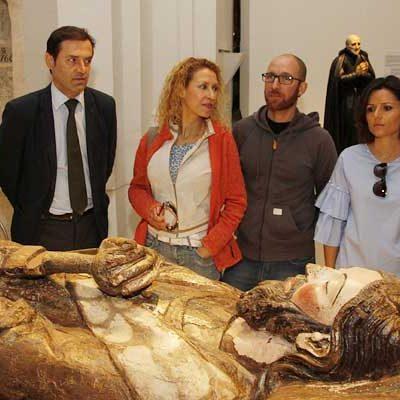 Los segovianos Esther Higuera y Óscar Aguirre han sido los visitantes 50.000 de `Reconciliare´
