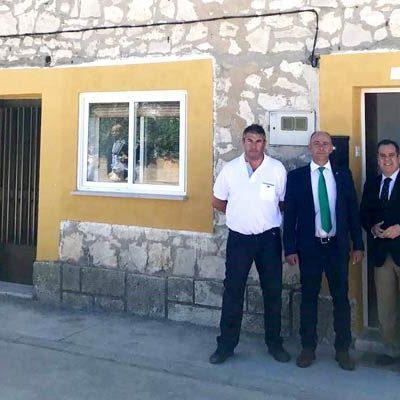 La Junta y el Ayuntamiento de Campaspero reforman dos viviendas para alquiler social con el programa 'Rehabitare'