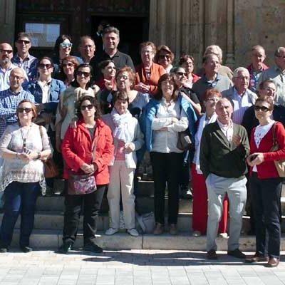 La Fundación del Archivo Ducal visita Aguilafuente