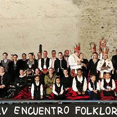 Ritmo y color en el IV Encuentro Folclórico de Aguilafuente