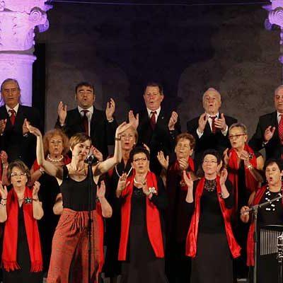 La Coral Cuellarana abre en Sanchonuño el XIV Encuentro de Coros de Villa y Tierra