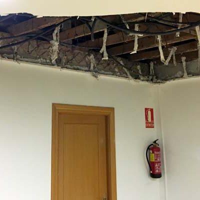 El PSOE denuncia el mal estado de las antiguas escuelas de Escarabajosa de Cuéllar