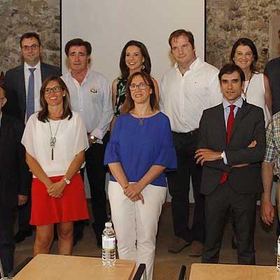 El Consejo de Colegios Profesionales de Farmaceúticos regional celebró su pleno en Cuéllar