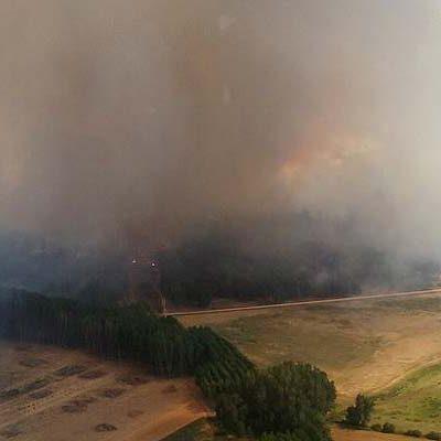 El incendio de Navalilla continúa activo manteniéndose el nivel 2 con 400 hectáreas afectadas