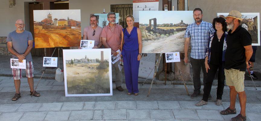 Reyes Ramos (2º premio), Vicente García (3º premio), José Ignacio Amelivia (1º premio), Raquel Alonso, Jesús Ballesteros, Margarita Cuesta y Rafael de Miguel.