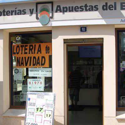 El miércoles comienza la venta del número de lotería que vendía el Ayuntamiento de Cuéllar