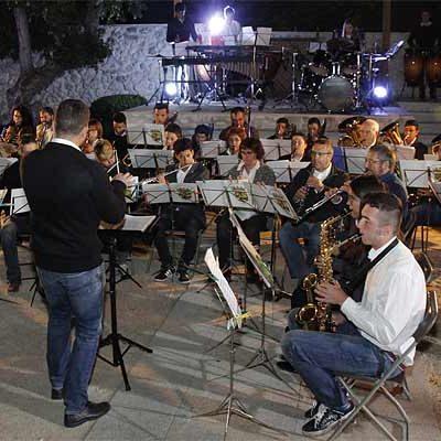 `Concierto de una noche de verano´ con la Banda de Música en Tenerías