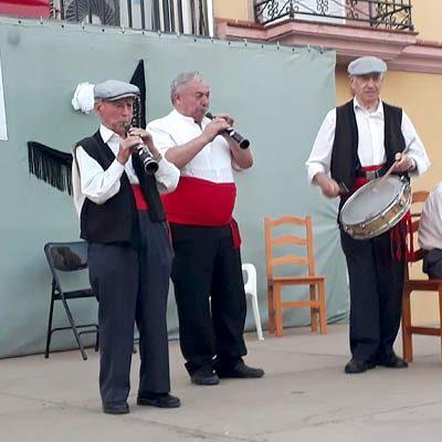 Emotivo homenaje a Serafín Vaquerizo en Fuenterrebollo