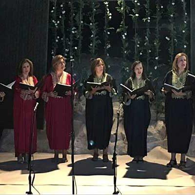 Música sefardí en la capilla de la Magdalena con el coro Elí Hoshaná de Lucena