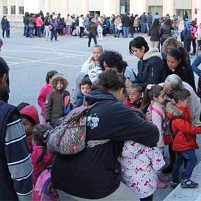 Más de 700 alumnos han iniciado hoy el curso escolar en Cuéllar