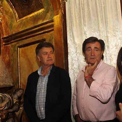 El presidente de la Diputación visita el Santuario de El Henar en los días previos a la romería popular