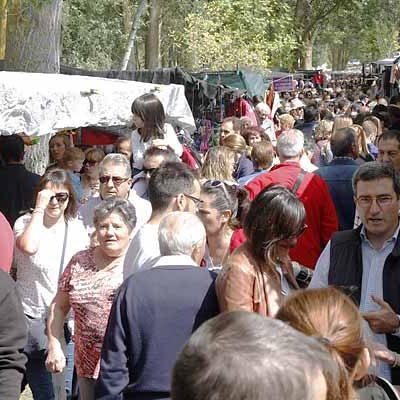 La chopera de El Henar acogerá más de 220 puestos de venta ambulante con motivo de la Romería del domingo